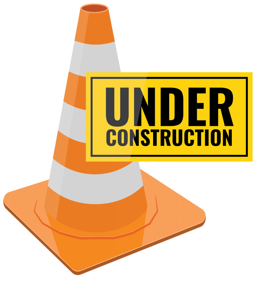 under construction, work, warning